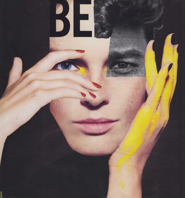 BE.BE_collage, 27×25,5 cm, Warsaw 2018