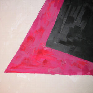 SQUARE III_acrylic on canvas, 60×60 cm, Cracow 2006